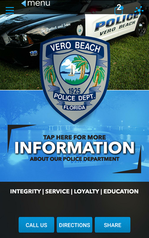 VBPD App display picture